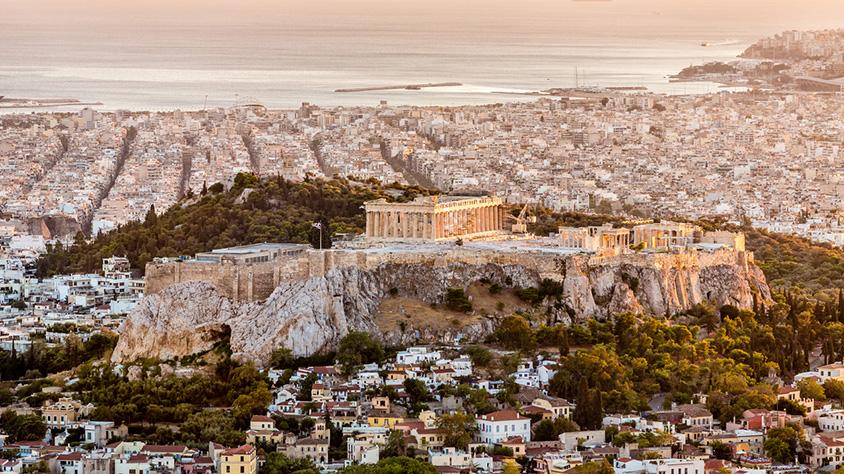 viaje Grecia corto con Crucero de 4 Días