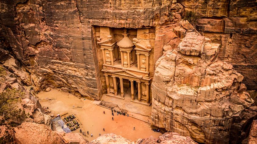 viaje Melodías de Jordania hacia Egipto